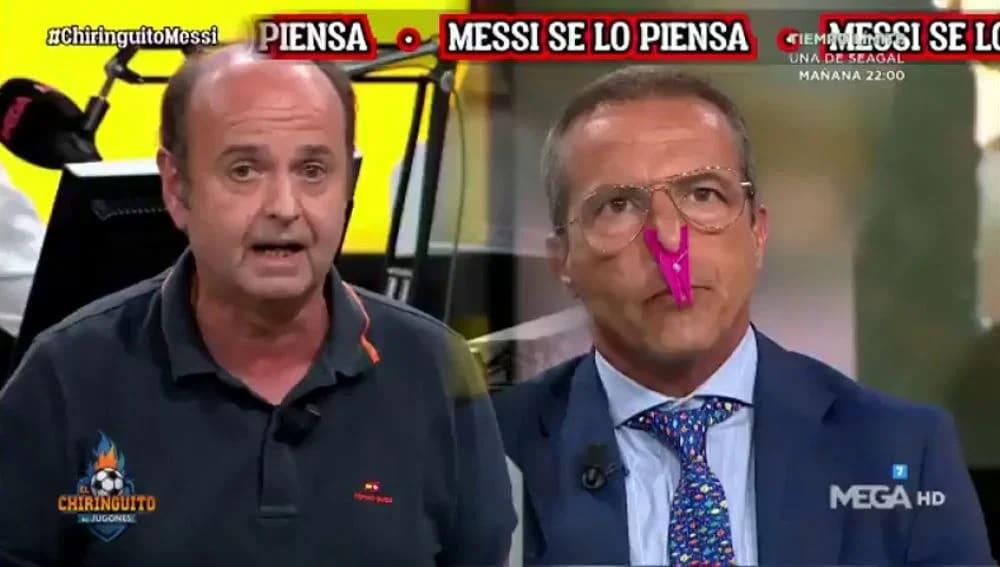 Cristóbal Soria ha protagonizado los momentos más alocados de El chiringuito de Jugones