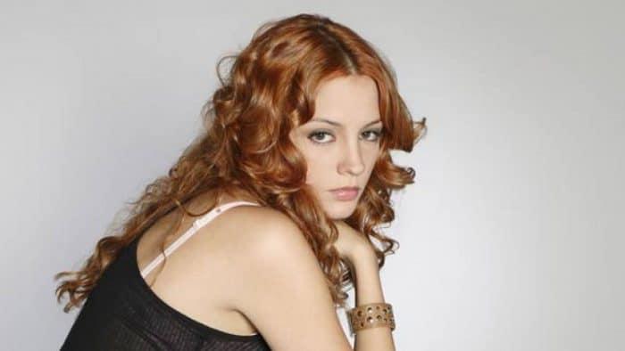 María Hervás debutó en 'Los Serrano'