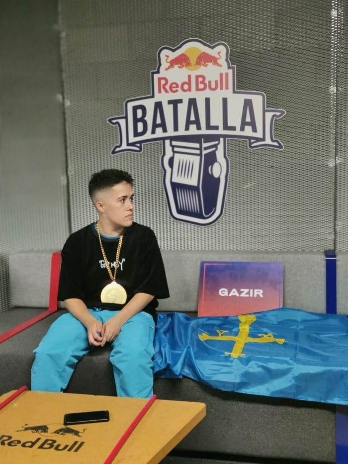 """Gazir tras ganar la Final Nacional de 'Red Bull Batalla': """"He disfrutado el camino hasta la victoria"""""""